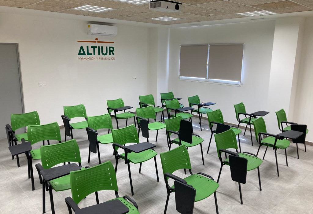 Altiur Formación escuela en Aragón